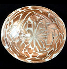 TOSO Murano Heavy AVENTURINE FLECKS Decorative Bowl