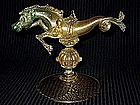 RARE Venetian SALVIATI 1890's Gold Flecks SEA 