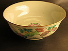 Fine Chinese  porcelain enamel  Bowl
