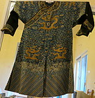 Chinese Gauze silk  Dragon Robe