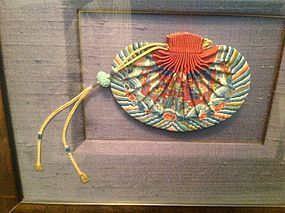 antique Chinese silk sachet