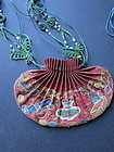 Antique Chinese EmbroideredHebao sachet