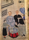 Large Chinese ancestor's painting