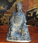 ZhenWu Bronze statue of a Taoist god