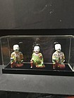 Three Chinese antique porcelain figurines