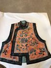 Antique Chinese embroidered vast