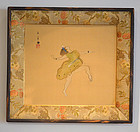 The Roaring 20's, Framed Painting by Nishimura Goun