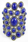 Dramatic Andrew Gn Paris Runway Cuff Bracelet