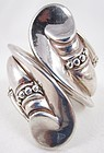 Lovely Margot Design Mexican Silver Bracelet by Hilario Lopez