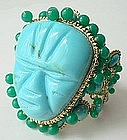 Outstanding Andrew GN of Paris Runway Mayan Bracelet