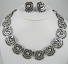 Beautiful Los Castillo Necklace and Earrings