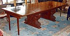 Antique English Dining Table Walnut 19th C. 7 - 15 Feet