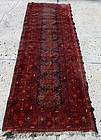 Antique Persian Rug Runner Handmade Turkoman