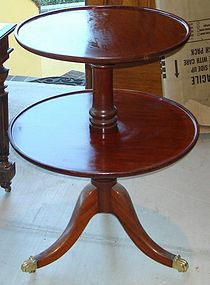 Holland & Sons Antique English Table Server Mahogany