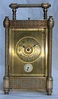 Antique French Carriage Clock Repeater 19th C.
