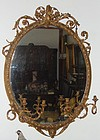 Pair Antique French Mirrors Candelabras 18th C.