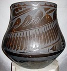 Large San Ildefonso Pueblo Pottery Came