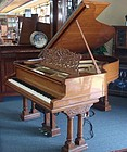 Beautiful Schumacher Oak Grand Piano