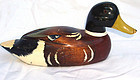 Vintage Hand Carved Wooden Duck Decoy