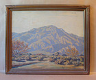 Plein Air Desert Oil Painting Darwin Duncan 1905 - 2002