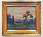 Oil Painting William Dorsey Plein Air