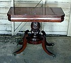 19th Century Classical American Mahogany Card Table