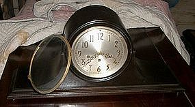 Vintage Seth Thomas 3 train Camelback Mantel Clock