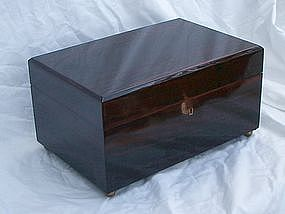 Finest Large Dunhill Rosewood Humidor for Cigars