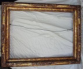 Antique Gilt Carved Style Wood Frame