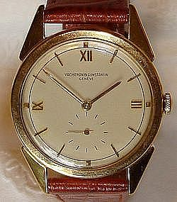 Vacheron Constantin Patrimony Wrist Watch Mens 18K Gold