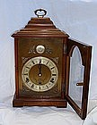 Antique English Elliott Mantel Clock Walnut