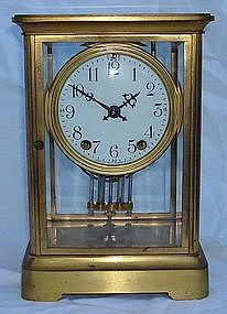 Antique Carriage Regulator Clock Large Seth Thomas