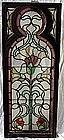 Antique Victorian Stained Glass Leaded 19th Century