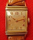 Hamilton Wrist Watch Art Deco 14K Gold Filled  1940 s