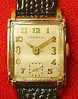 Hamilton Wrist Watch 14K Gold Filled 19 Jewels 1930s