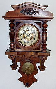 Antique German Berliner Clock 19th Century
