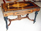 Antique Marquetry Table attr. Alexander Roux 19th C.