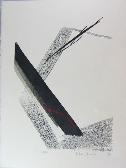 "Japan  Toko Shinoda  Print  ""A  Tune"""