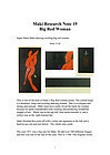 japan  Haku Maki  Big Red Woman  1971