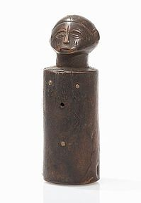 tabwa or rungu /lungu doll,(twin figure)congo