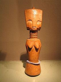 a fante akuaba doll.Ghana