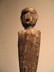 an hampatong figure ,iban dayak,