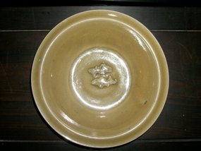SONG/YUAN CELADON TWIN FISH DISH