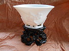 CHINESE BLANC DE CHINE PORCELAIN CUP