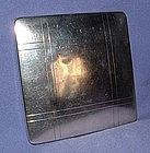 Sterling Silver Pressed Powder Compact circa 1940