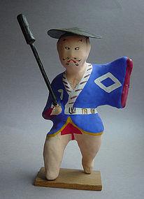 Miharu Hariko, Papier-mache Doll; Hikyaku (Courier)