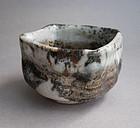Guinomi, Sake Cup, Shino Glaze. George Gledhill