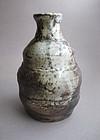 Vase, Hanaire, Shino Glaze, by George Gledhill