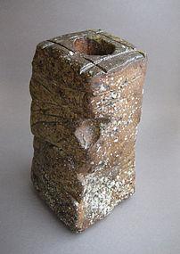 Vase, Hanaire, Ash Glaze, by George Gledhill