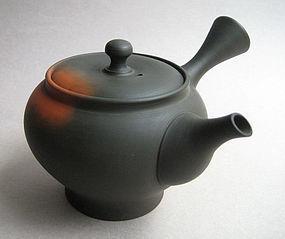 Tokoname Yohen Kyusu, Tea Pot, by Murata Yoshiki